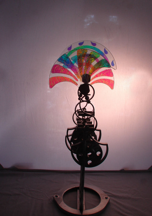Rainbow Fandango Kinetic Wind Monumental Sculpture by LaPaso - Kinetic sculpture