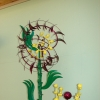 Sunflower Kinetic Wind Monumental Sculpture by LaPaso
