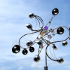 Paradox of Bling top view Kinetic Wind Monumental Sculpture by LaPaso
